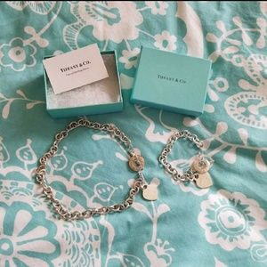 Authentic Tiffany Necklace and Bracelet